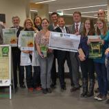 """Projekt  """"Wildbienenschutz""""  von NatureLife-International und EDEKA gewürdigt"""