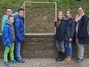 Ein Quadratmeter für Wildbienen, ein Projekt des MBG und der Bund-Ortsgruppe Bretten